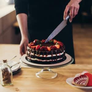 Torte richtig anschneiden
