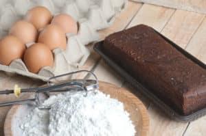 Zutaten für Brownies